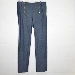 Banana Republic Sloan Sailor Nautical Pants 8L